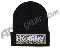 HK Army Tiger Beanie - Black