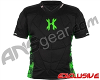 HK Army Crash Chest Protector - Black/Lime