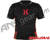 HK Army Crash Chest Protector - Black/Red