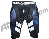 HK Army Crash Slider Shorts - Black/Blue