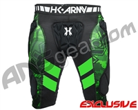 HK Army Crash Slider Shorts - Black/Green