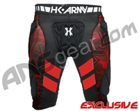 HK Army Crash Slider Shorts - Black/Red