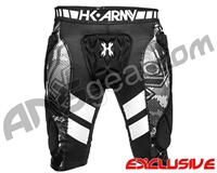 HK Army Crash Slider Shorts - Black/White