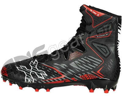 HK Army Diggerz Paintball Cleats - Black/Red