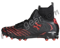 HK Army Diggerz LT Low Top Paintball Cleats - Black/Red