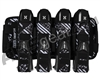 HK Army Eject 4+3 Paintball Harness - Graphite