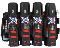 HK Army Eject 4+3 Paintball Harness - Houston Heat