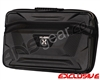 HK Army XL Exo 2.0 Carbon Paintball Gun Case - Black w/ Red Liner