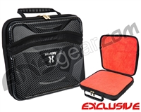 HK Army Exo Carbon Paintball Gun Case - Black w/Red Liner