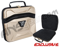 HK Army Exo Carbon Paintball Gun Case - Gold