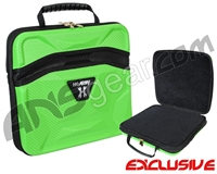 HK Army Exo Carbon Paintball Gun Case - Neon Green