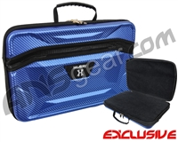 HK Army XL Exo Carbon Paintball Gun Case - Blue