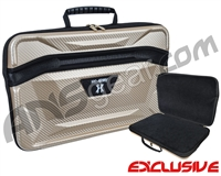 HK Army XL Exo Carbon Paintball Gun Case - Gold