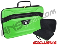 HK Army XL Exo Carbon Paintball Gun Case - Neon Green