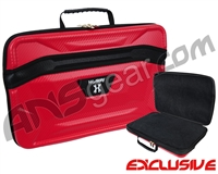 HK Army XL Exo Carbon Paintball Gun Case - Red
