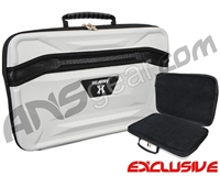 HK Army XL Exo Carbon Paintball Gun Case - White