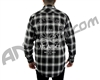 HK Army Collide Button Up Flannel - Black