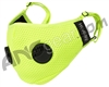 HK Army FLTRD Air Carbon Filtered Face Mask - Neon Green