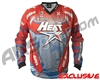 HK Army Freeline Paintball Jersey - Houston Heat Home (Red/Blue)