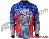 HK Army Freeline Paintball Jersey - 2019 Houston Heat World Cup - Blue