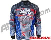HK Army Freeline Paintball Jersey - 2019 Houston Heat World Cup - Grey