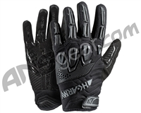 HK Army Armored Full Finger Paintball Gloves - Blackout