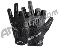 HK Army Armored Half Finger Paintball Gloves - Slate