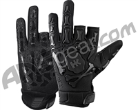 HK Army Bones Paintball Gloves - Black/Black