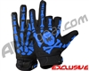 HK Army Bones Paintball Gloves - Black/Blue