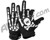 HK Army Bones Paintball Gloves - Black/White