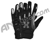HK Army FULL FINGER Hardline Paintball Gloves - Charcoal