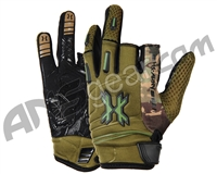 HK Army Hardline Paintball Gloves - Olive Camo