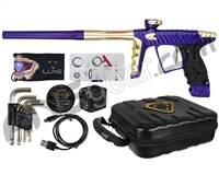 HK Army Luxe X Paintball Gun - Dust Purple/Gold