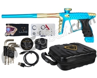 HK Army Luxe X Paintball Gun - Dust Teal/Gold