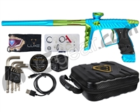 HK Army Luxe X Paintball Gun - Dust Teal/Neon Green
