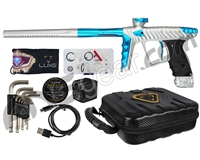 HK Army Luxe X Paintball Gun - Dust White/Teal
