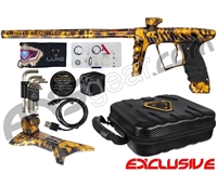 HK Army Luxe X Paintball Gun - Polished Acid Gold