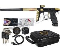 HK Army A51 Luxe X Paintball Gun - Dust Black/Gold