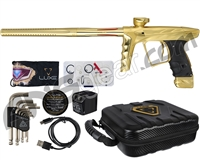 HK Army A51 Luxe X Paintball Gun - Dust Gold/Gold