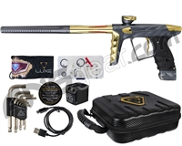HK Army A51 Luxe X Paintball Gun - Dust Pewter/Gold