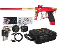 HK Army A51 Luxe X Paintball Gun - Dust Red/Gold