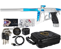 HK Army A51 Luxe X Paintball Gun - Dust Silver/Teal