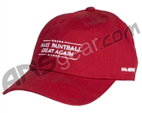 HK Army Make Paintball Great Again Dad Hat - Red