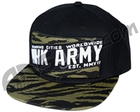 HK Army Snap Back Brushed Hat - Camo/Black