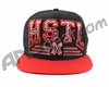 HK Army Snap Back Grind Hat - Black/Red