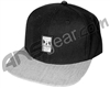 HK Army Snap Back Wavy Hat - Black/Grey