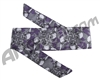 HK Army Hostilewear Headband - Skulls Purple
