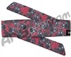 HK Army Hostilewear Headband - Skulls Red/Black