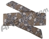 HK Army Hostilewear Headband - Skulls Tan