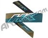 HK Army Headband - Retro Edge Aqua/Gold